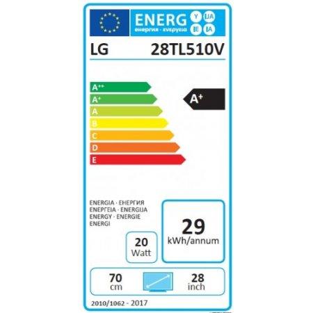 "Lg Monitor tv led flat hd ready classe energetica ""A+"" - 28tl510vwz"