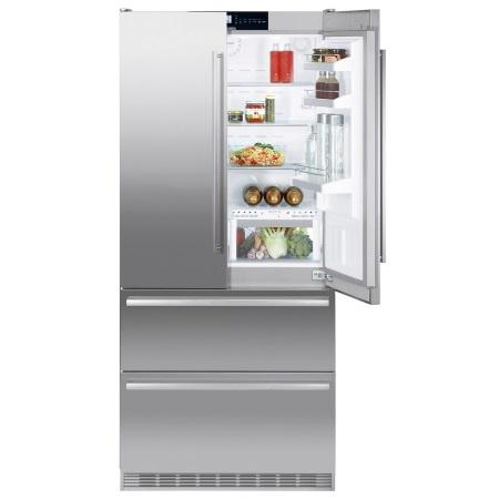 Liebherr Combinato frigo-congelatore porta Francese - CBNes 6256-23