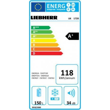 Liebherr Frigo 1p incasso sottopiano - Uk1720