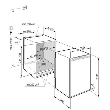 Liebherr Congelatore da Incasso - IG 1014-20