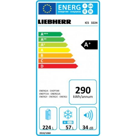 Liebherr Frigo combinato 2p incasso - Ics 3224