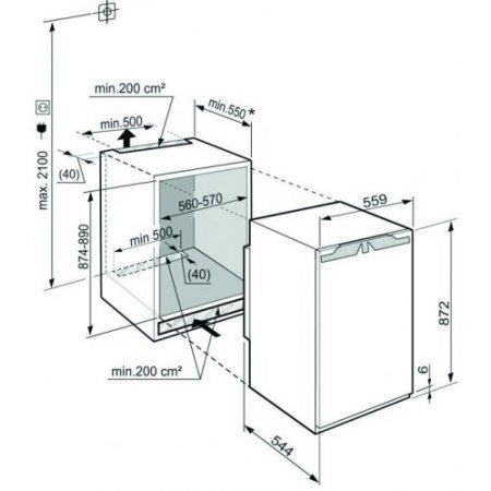 Liebherr Congelatore verticale no frost - Ign 1664
