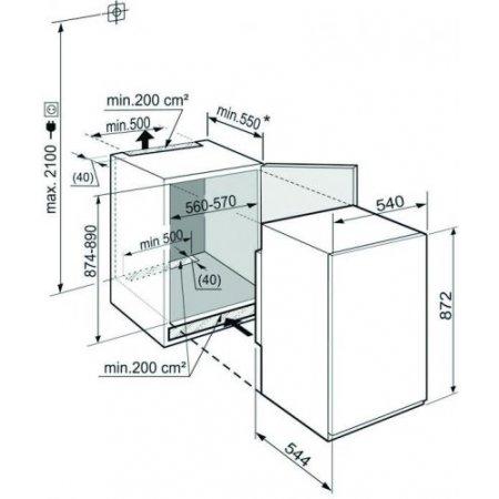 Liebherr Congelatore verticale - Igs 1624