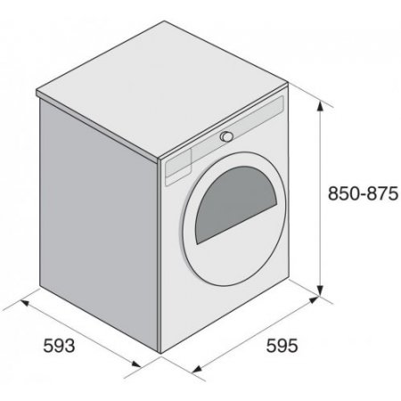 Asko Asciugatrice a pompa di calore - T 208 H.w