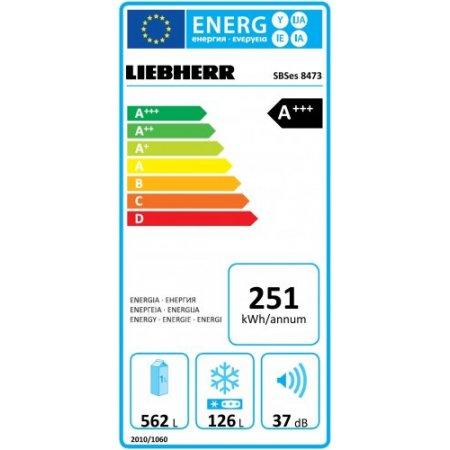 Liebherr Frigo side by side ventilato - Sbses847320001