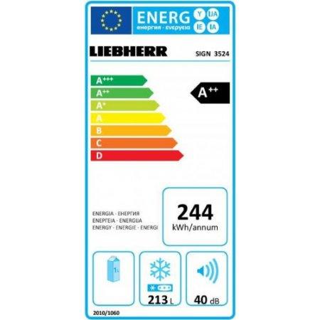 Liebherr Congelatore incasso no frost - Sign352420001
