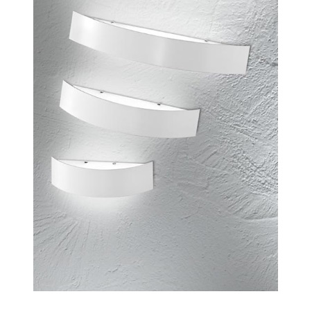 Linea Light Lampada da parete - Curve' White 1131