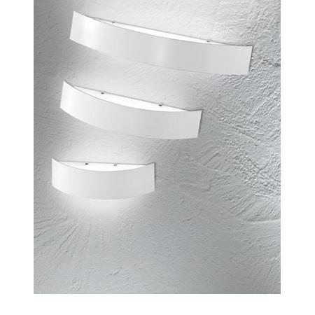 Linea Light Lampada da parete - Curve' White 1135