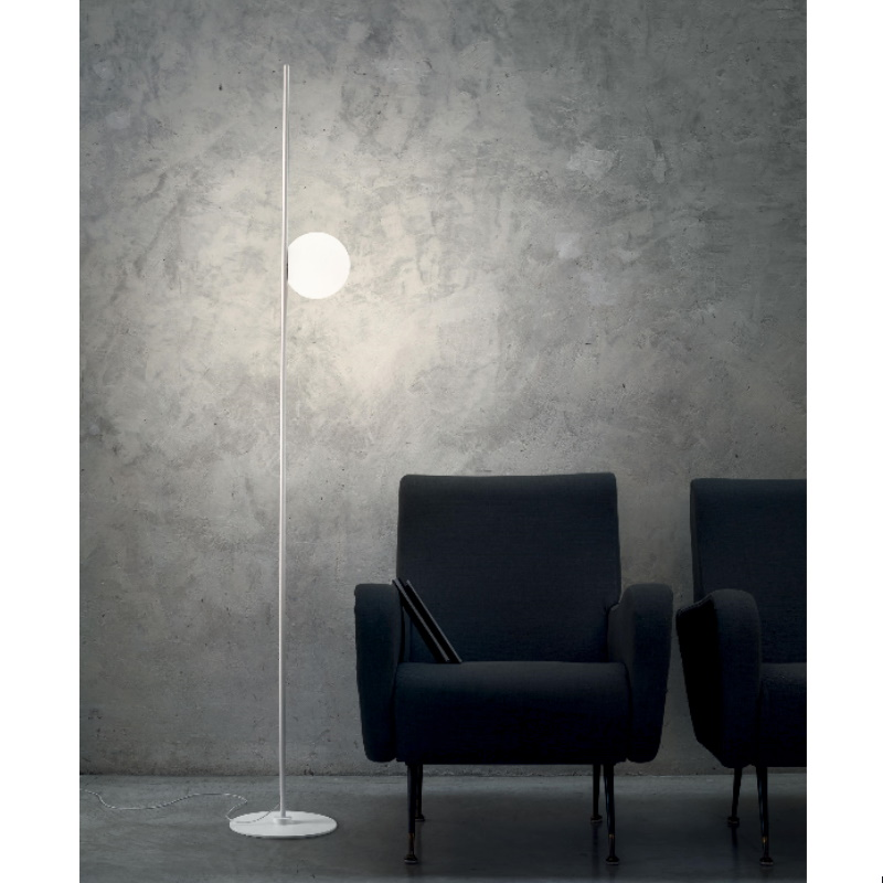 Linea Light Lampada Da Terra Kimia Nera Lampada da terra di design Linea Light - 8546