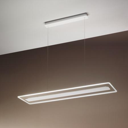 Linea Light Antille Sospensione Bianco Lampada a sospensione di design Linea Light - 8936