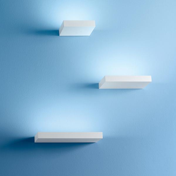Linea Light Regolo 36W Bianco Applique rettangolare Linea Light a singolaemissione - 9045