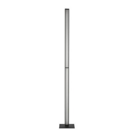 Linea Light Tablet Piantana Nero Lampada da terra di design Linea Light - 8453