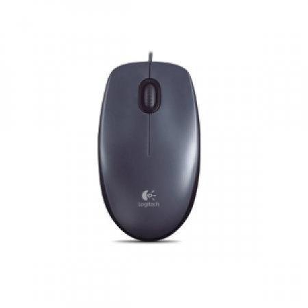 LOGITECH Mouse Ottico compatto con cavo - M100 GREY