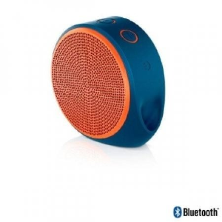 LOGITECH - X100 MOBILE SPEAKER ORANGE