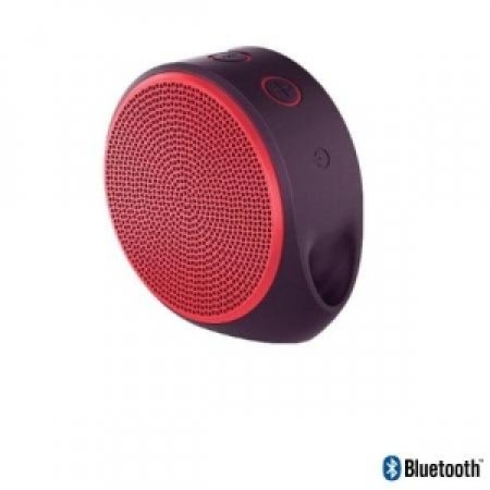 LOGITECH - X100 MOBILE SPEAKER RED