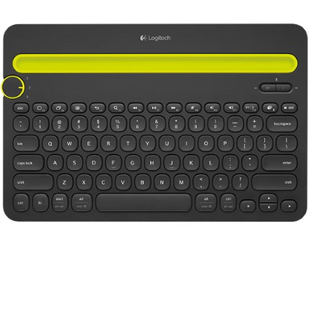 Logitech Tastiera Wireless Bluetooth per Smartphone e Tablet - Keyboard Multi-device K480