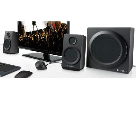 Logitech Sistema Speaker Audio 2.1 - Multimedia Speaker Z333 980-000953