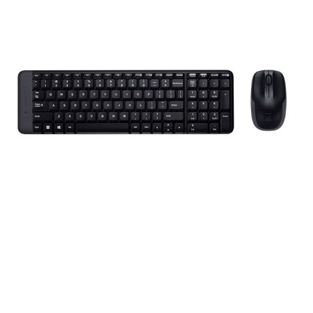 Logitech Tastiera wireless + mouse ottico - Wireless Combo Mk220