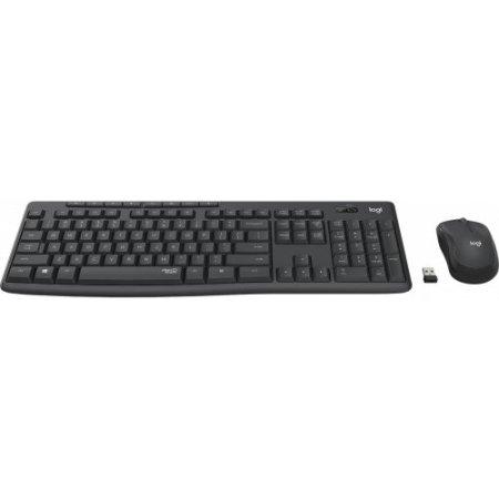 Logitech Tastiera senza filo - Mk295 Silent 920-009797
