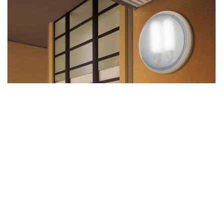 Lombardo Lampada da soffitto o da parete - Class Tonda 260 Bianca E27 1x75w