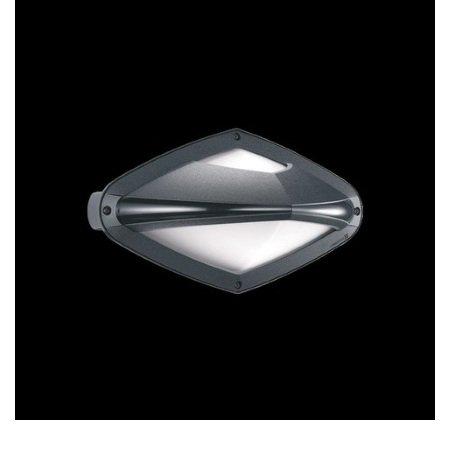 Lombardo Lampada da parete o da soffitto - Diva Top 300 Grigio Ht Metal E27