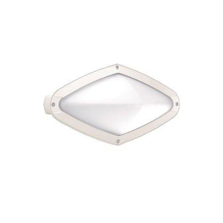 Lombardo Lampada da parete o da soffitto - Diva Ovale 300 Bianca E27 1x60w
