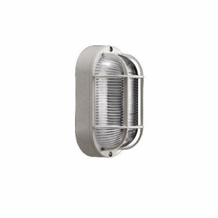 Lombardo Lampada da parete o soffitto - Tartaruga Ovale 200 Grigio E27 - LB44124