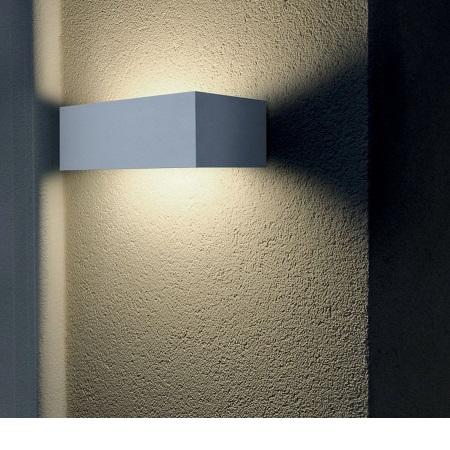 Lombardo Lampada da parete - Trend 220 Up&Down 1xE27 Grigio - LB4922G