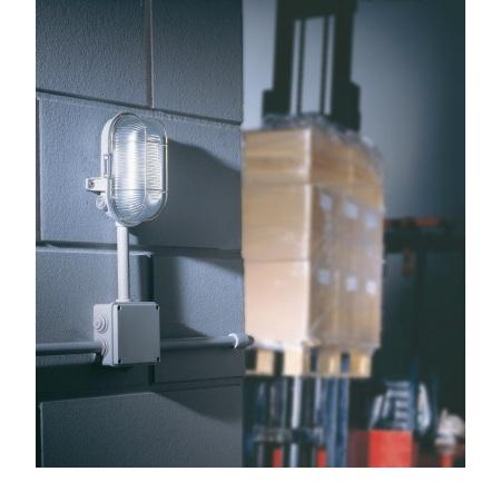 Lombardo Lampada da parete o soffitto - Tartaruga Ovale 3 Entrate Grigio 1x60w - LB41224