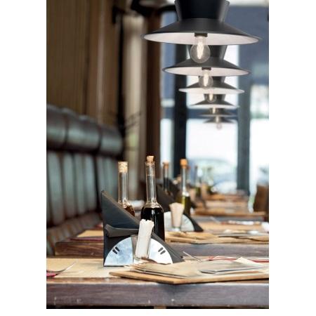 Lombardo Lampada a sospensione - Vintage 35 E27 Grigio Antracite/Bianco