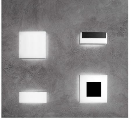 Lombardo Lampada a Parete o soffitto - ART 100 TOP 10W 4K Grigio - LL116003N
