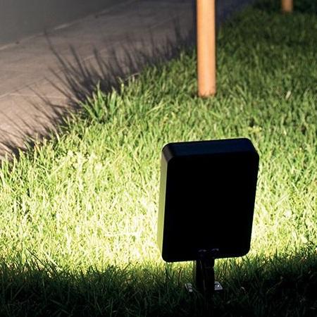 Lombardo Proiettore da esterno - Tag 210 25W Asimmetrico 3K Bianco - LL1151043
