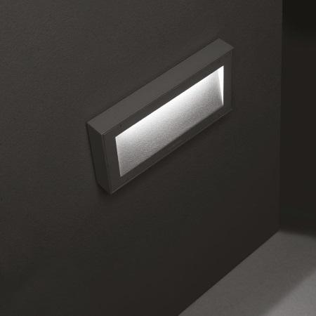 Lombardo Lampada da parete - KOI 220 9W 3K ANTRACITE - Ll1210103