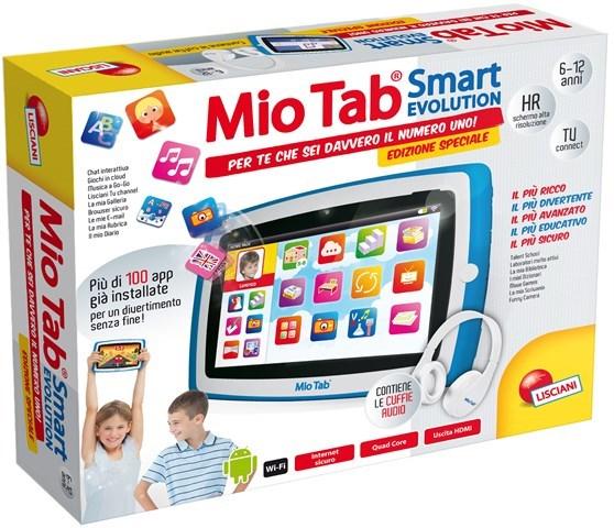 """Lisciani Giochi Display MultiTouch da 7"""" - Mio Tab Smart Evolution Special Edition"""