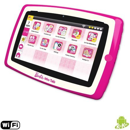 "Lisciani Giochi Display MultiTouch da 7"" - Mio Tab Barbie Evolution"