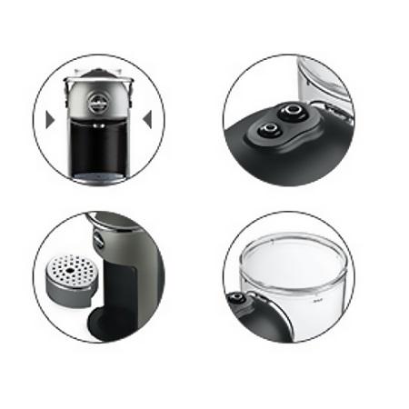 Lavazza Macchina del caffè a capsule Lavazza A Modo Mio - Jolie Plus Silver