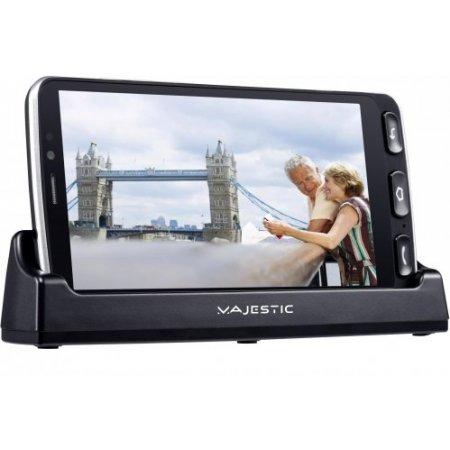 Majestic Smartphone 16 gb ram 2 gb. quadband - Jack Nero
