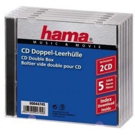 Hama Custodia cd / dvd - 7444745 Trasparente