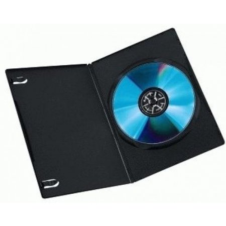 Hama Custodia cd / dvd - 7451180 Nero