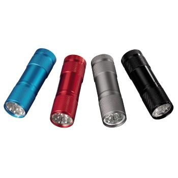 Mtrading Torcia tascabile in alluminio - 7123119 Torcia a LED FL-60