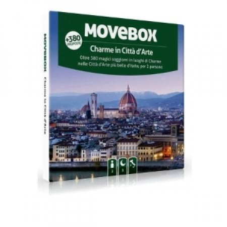 MOVEBOX 1 soggiorno di 1 notte con colazione in una struttura tra le presenti in catalogo, per 2 persone - CHARME IN CITTA' D'ARTE 2 PERSONE