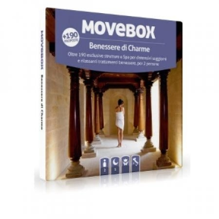 MOVEBOX - BENESSERE DI CHARME 1NOTTE 2PERSONE