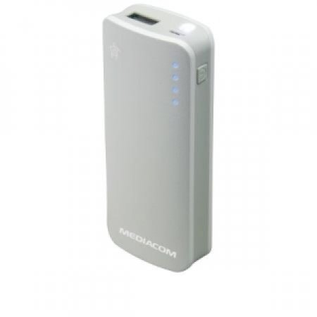 MEDIACOM Powerbank - M-PBS52L POWERBANK WHITE