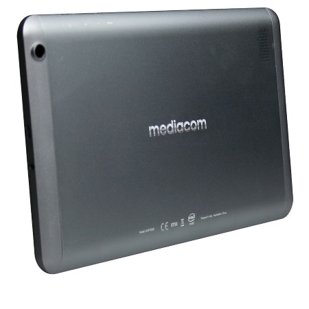 "Mediacom Display IPS multi-touch da 10.1"", 1024x600px - Smartpad I2 10 Grey 3G M-sp10i2b"
