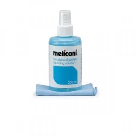 MELICONI - SOLUZIONE 200 ML + PANNO MICROFIBRA