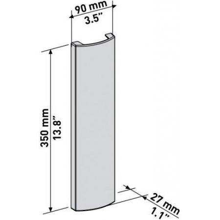 Meliconi - 480520 Slim Cover Double