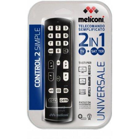 Meliconi Telecomando multi dispositivo - Control 2 Simple808033