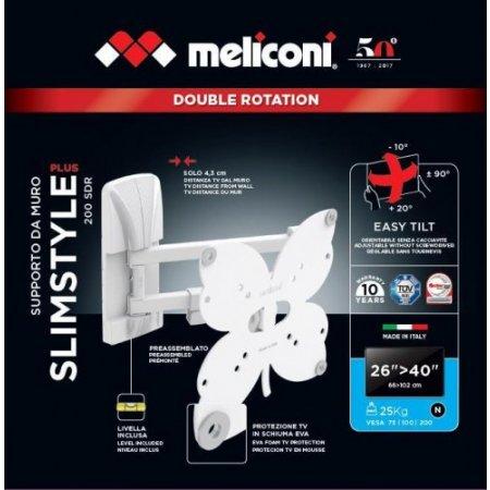 Meliconi Staffa tv - Slimstyle Plus 200 Sdr 480984