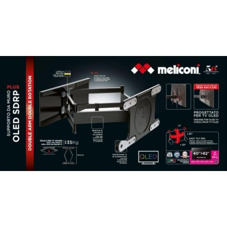 Meliconi Staffa tv - Extra-oled Sdrp 480870