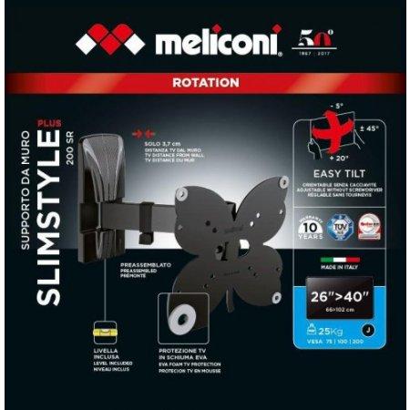 Meliconi Staffa tv - Slimstyle Plus 200 Sr 480971